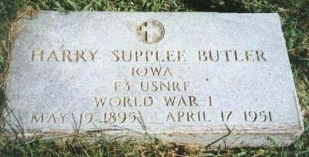 BUTLER, HARRY SUPPLEE - Warren County, Iowa | HARRY SUPPLEE BUTLER