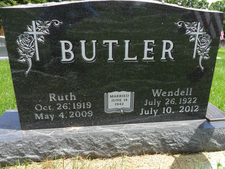 BUTLER, RUTH - Warren County, Iowa | RUTH BUTLER
