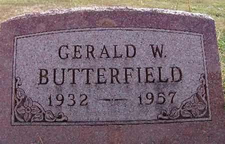 BUTTERFIELD, GERALD W. - Warren County, Iowa | GERALD W. BUTTERFIELD