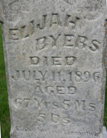 BYERS, ELIJAH - Warren County, Iowa | ELIJAH BYERS