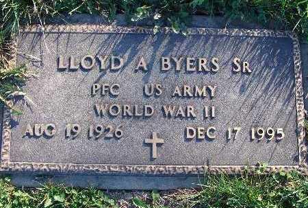 BYERS, LLOYD A. SR. - Warren County, Iowa   LLOYD A. SR. BYERS