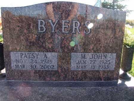 BYERS, PATSY A. - Warren County, Iowa | PATSY A. BYERS