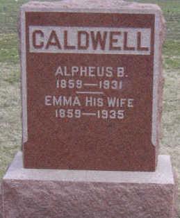 CALDWELL, EMMA - Warren County, Iowa | EMMA CALDWELL