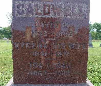 CALDWELL, DAVID H. - Warren County, Iowa | DAVID H. CALDWELL
