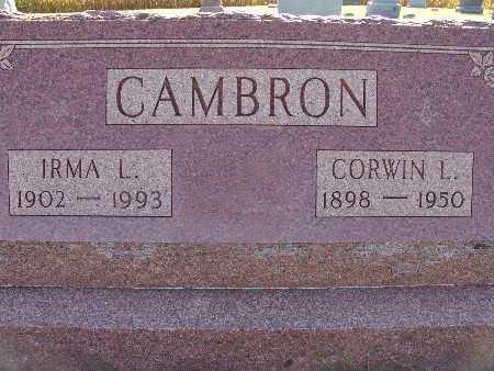 CAMBRON, CORWIN L. - Warren County, Iowa | CORWIN L. CAMBRON