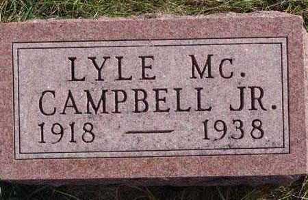 CAMPBELL, LYLE MC. JR. - Warren County, Iowa | LYLE MC. JR. CAMPBELL