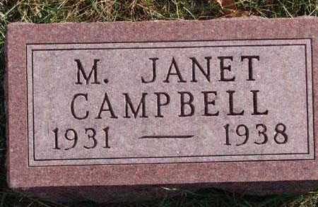 CAMPBELL, M. JANET - Warren County, Iowa | M. JANET CAMPBELL