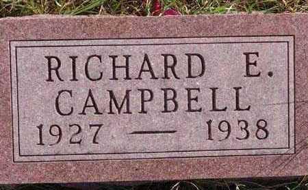 CAMPBELL, RICHARD E. - Warren County, Iowa | RICHARD E. CAMPBELL