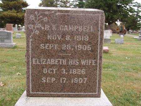 CAMPBELL, R. K. - Warren County, Iowa | R. K. CAMPBELL