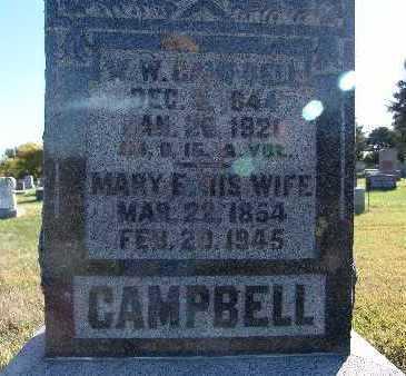 CAMPBELL, W. W. - Warren County, Iowa | W. W. CAMPBELL
