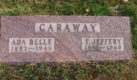 CARAWAY, ADA BELLE - Warren County, Iowa | ADA BELLE CARAWAY
