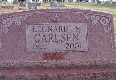 CARLSEN, LEONARD E. - Warren County, Iowa | LEONARD E. CARLSEN