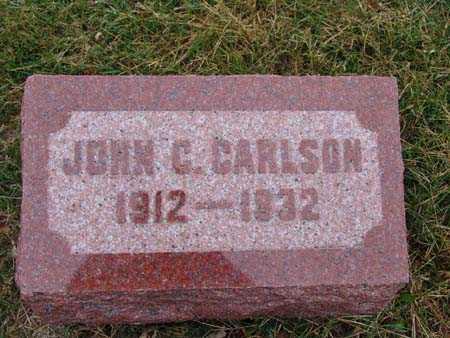 CARLSON, JOHN C. - Warren County, Iowa   JOHN C. CARLSON