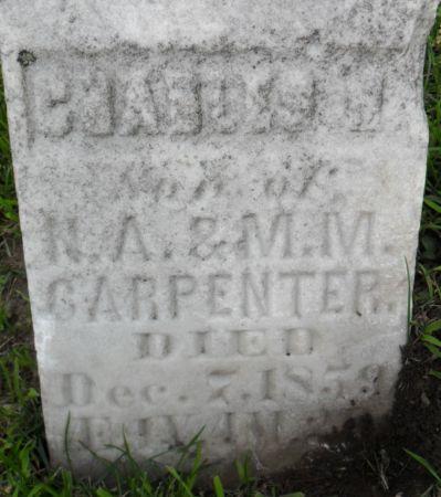 CARPENTER, CHARLES H. - Warren County, Iowa | CHARLES H. CARPENTER