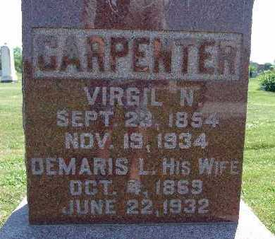 CARPENTER, VIRGIL N. - Warren County, Iowa | VIRGIL N. CARPENTER