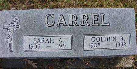 CARREL, GOLDEN R. - Warren County, Iowa | GOLDEN R. CARREL