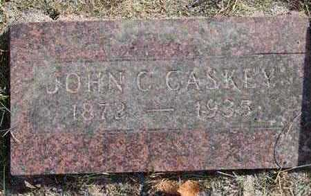CASKEY, JOHN C. - Warren County, Iowa   JOHN C. CASKEY