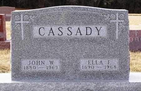 CASSADY, JOHN W. - Warren County, Iowa | JOHN W. CASSADY