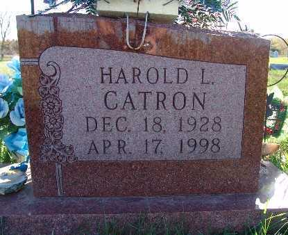 CATRON, HAROLD L. - Warren County, Iowa | HAROLD L. CATRON
