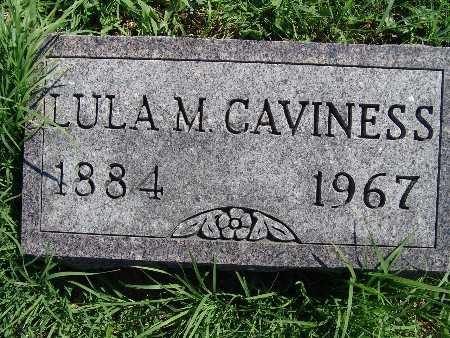 CAVINESS, LULA M - Warren County, Iowa | LULA M CAVINESS