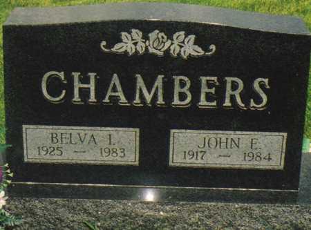 CHAMBERS, JOHN E. - Warren County, Iowa | JOHN E. CHAMBERS
