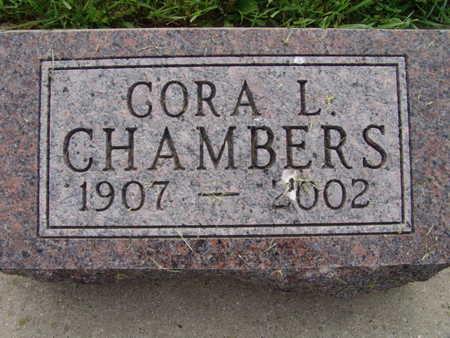 CHAMBERS, CORA L. - Warren County, Iowa | CORA L. CHAMBERS