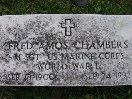 CHAMBERS, FRED AMOS - Warren County, Iowa   FRED AMOS CHAMBERS