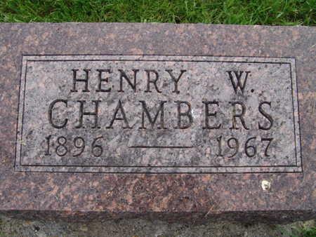 CHAMBERS, HENRY W. - Warren County, Iowa | HENRY W. CHAMBERS