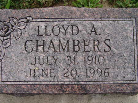 CHAMBERS, LLOYD A. - Warren County, Iowa | LLOYD A. CHAMBERS