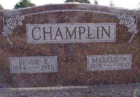 CHAMPLIN, BESSIE E. - Warren County, Iowa | BESSIE E. CHAMPLIN