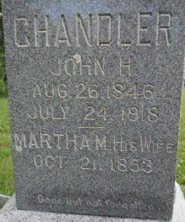 CHANDLER, JOHN H. - Warren County, Iowa | JOHN H. CHANDLER