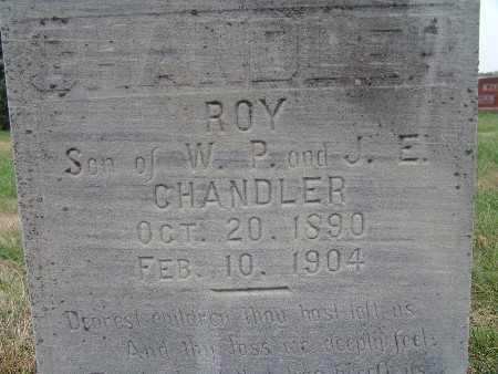 CHANDLER, ROY - Warren County, Iowa | ROY CHANDLER