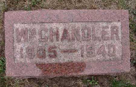 CHANDLER, WM. - Warren County, Iowa | WM. CHANDLER