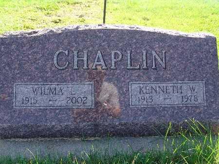 CHAPLIN, WILMA L - Warren County, Iowa | WILMA L CHAPLIN