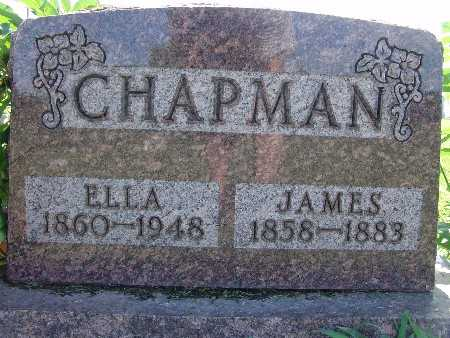 CHAPMAN, ELLA - Warren County, Iowa   ELLA CHAPMAN
