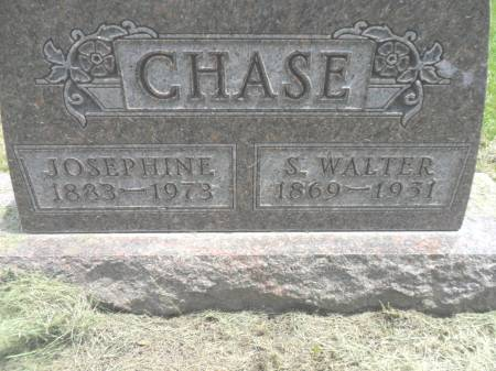CHASE, S WALTER - Warren County, Iowa | S WALTER CHASE