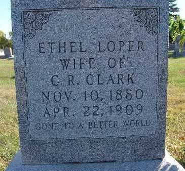 CLARK, ETHEL LOPER - Warren County, Iowa | ETHEL LOPER CLARK