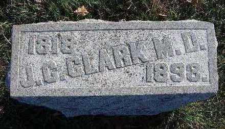 CLARK, J. C. (M.D.) - Warren County, Iowa   J. C. (M.D.) CLARK
