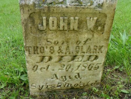 CLARK, JOHN W. - Warren County, Iowa | JOHN W. CLARK