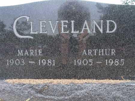 CLEVELAND, ARTHUR - Warren County, Iowa | ARTHUR CLEVELAND