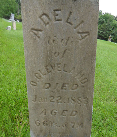 CLEVELAND, ADELIA - Warren County, Iowa | ADELIA CLEVELAND