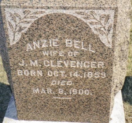 CLEVENGER, ANZIE BELL - Warren County, Iowa | ANZIE BELL CLEVENGER