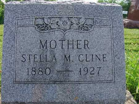 CLINE, STELLA M. - Warren County, Iowa | STELLA M. CLINE
