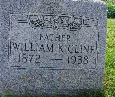 CLINE, WILLIAM K. - Warren County, Iowa   WILLIAM K. CLINE