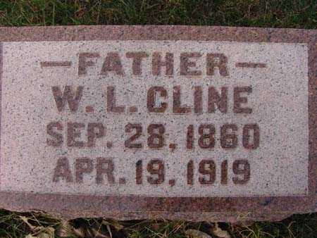 CLINE, W. L. - Warren County, Iowa | W. L. CLINE