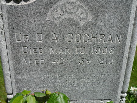 COCHRAN, DAVID A. - Warren County, Iowa | DAVID A. COCHRAN