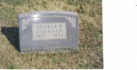COCHRAN, GEORGE EARL - Warren County, Iowa   GEORGE EARL COCHRAN