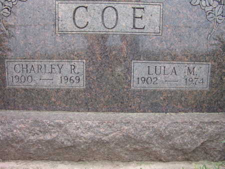 COE, CHARLEY R. - Warren County, Iowa | CHARLEY R. COE