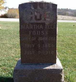 COE, MARTHA ELLA - Warren County, Iowa | MARTHA ELLA COE