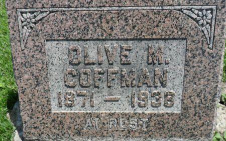 COFFMAN, OLIVE M. - Warren County, Iowa | OLIVE M. COFFMAN